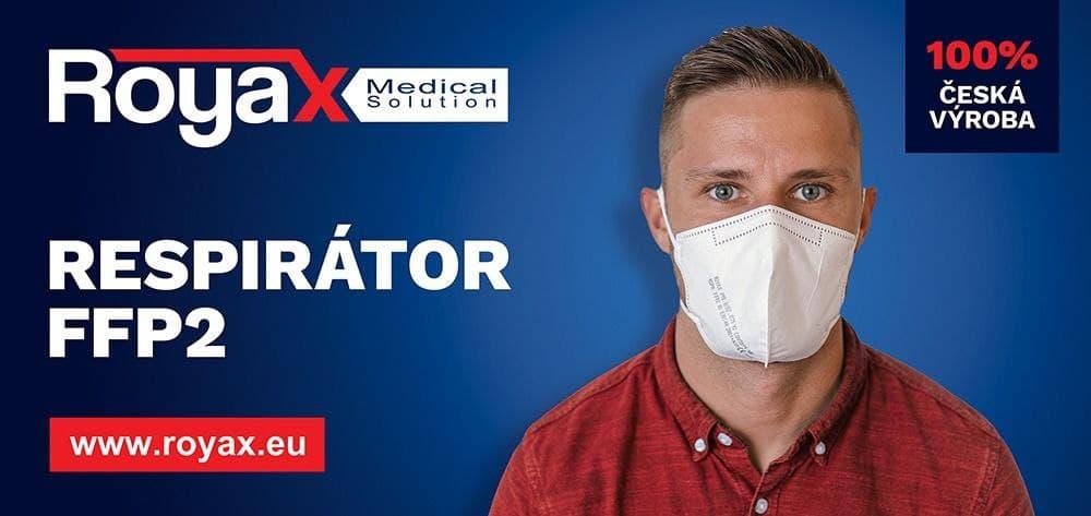 Nejpohodlnější český FFP2 respirátor za speciální cenu!